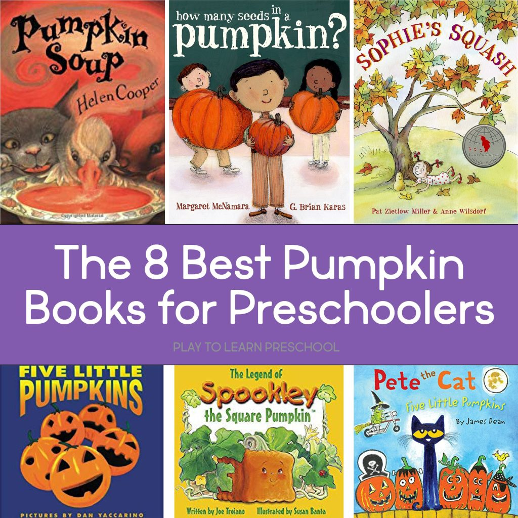 The 8 Best Pumpkin Books for Preschoolers