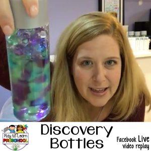 Sensory bottles Voss discovery bottles