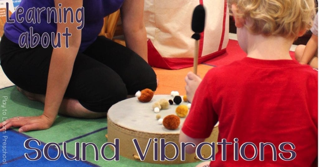 How to teach young children about Sound Vibrations - Feel the Music