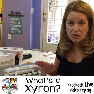 What is a xyron machine
