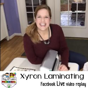 How to laminate with a xyron