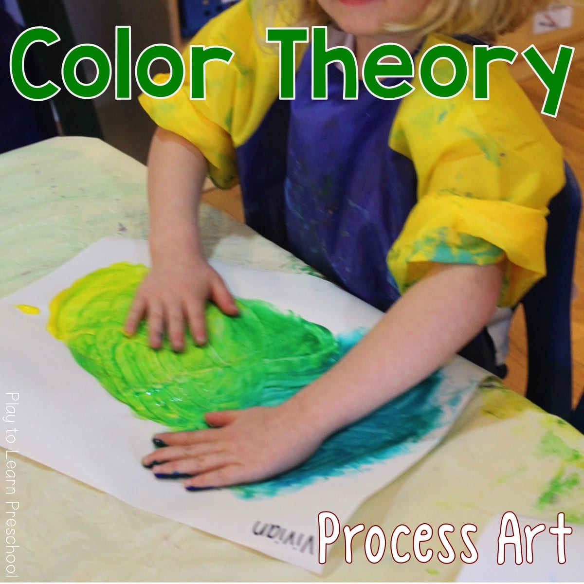 Explore Color Theory with Paint Preschool Art