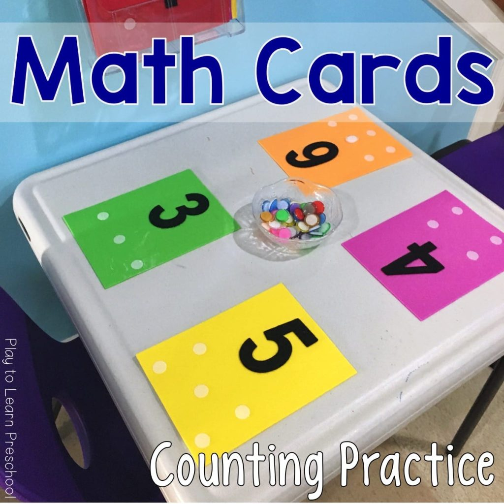 Foam Math Cards