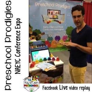 FB Live Preschool Prodigies Expo