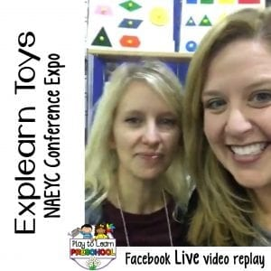 FB Live NAEYC Expo Explearn Toys