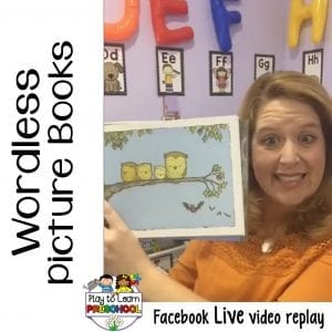 FB Live Wordless Picture Books