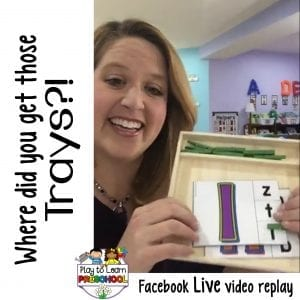FB Live Wooden Trays