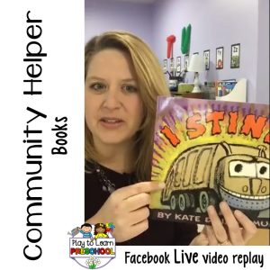 Community Helper Books for Preschoolers