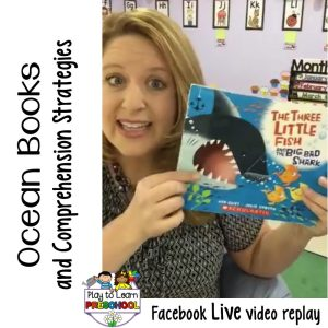 Ocean Books and Comprehension Activities for Preschoolers