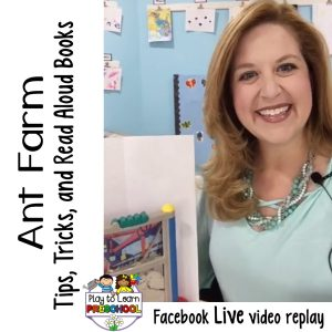How to use an Ant Farm in a Preschool Classroom