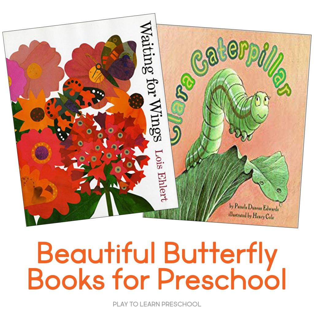 Butterfly Books for Preschoolers