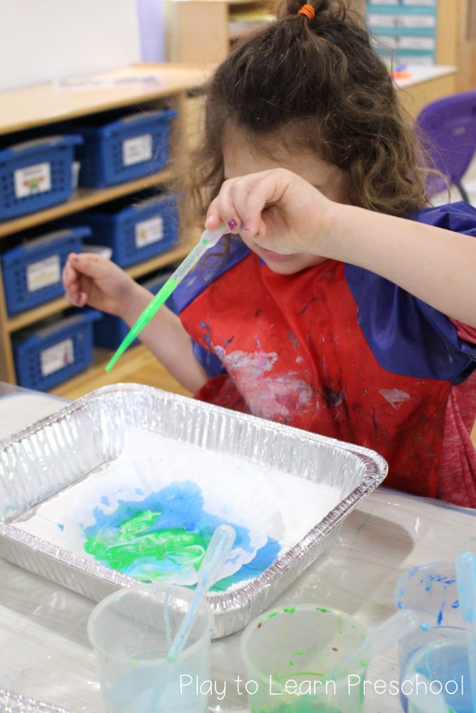 Earth Day Process Art for Preschoolers
