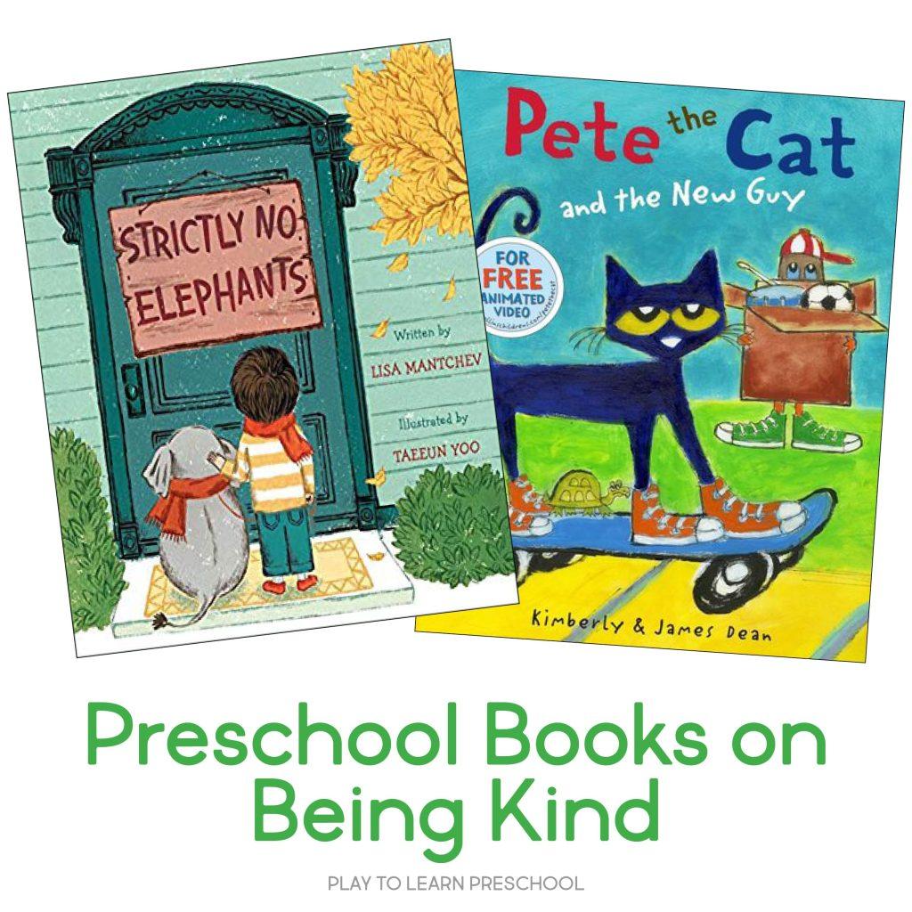 Preschool Friendship Books about Being Kind