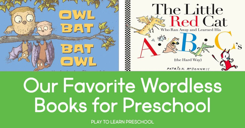 Wordless Picture Books for Preschoolers