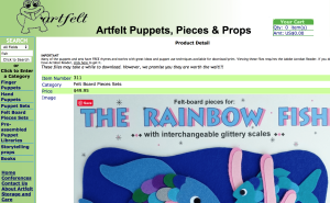 ArtFelt Puppets and Felt Board Designs