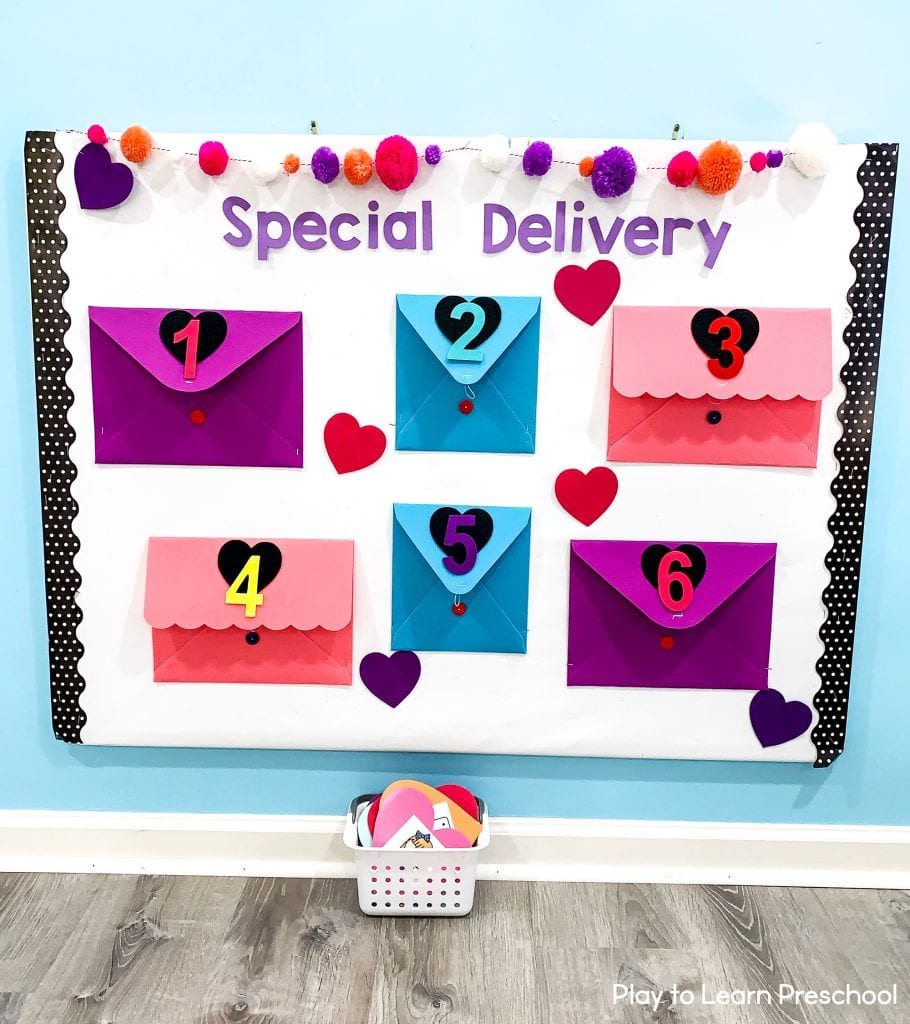 Valentine's Day Bulletin Board for Preschoolers