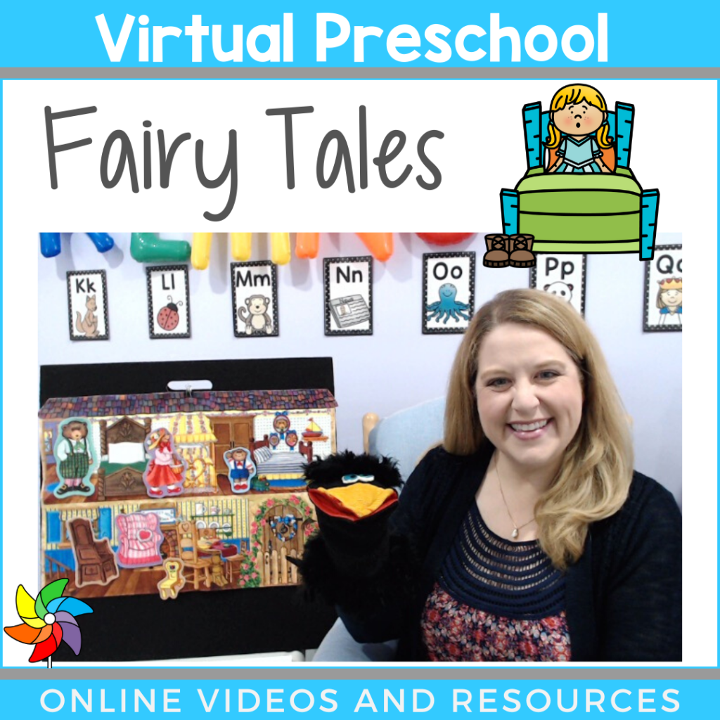 Virtual Preschool Circle Time Lessons Videos And Printables