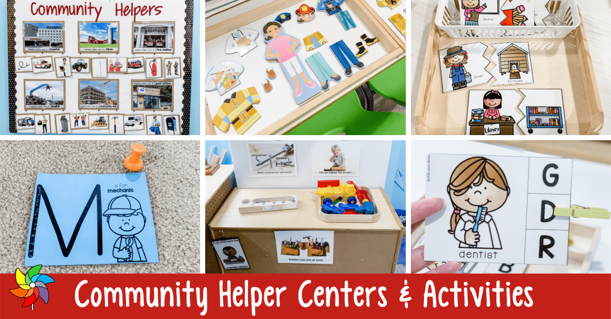 Community Helper Activities, Lessons And Centers For Preschoolers