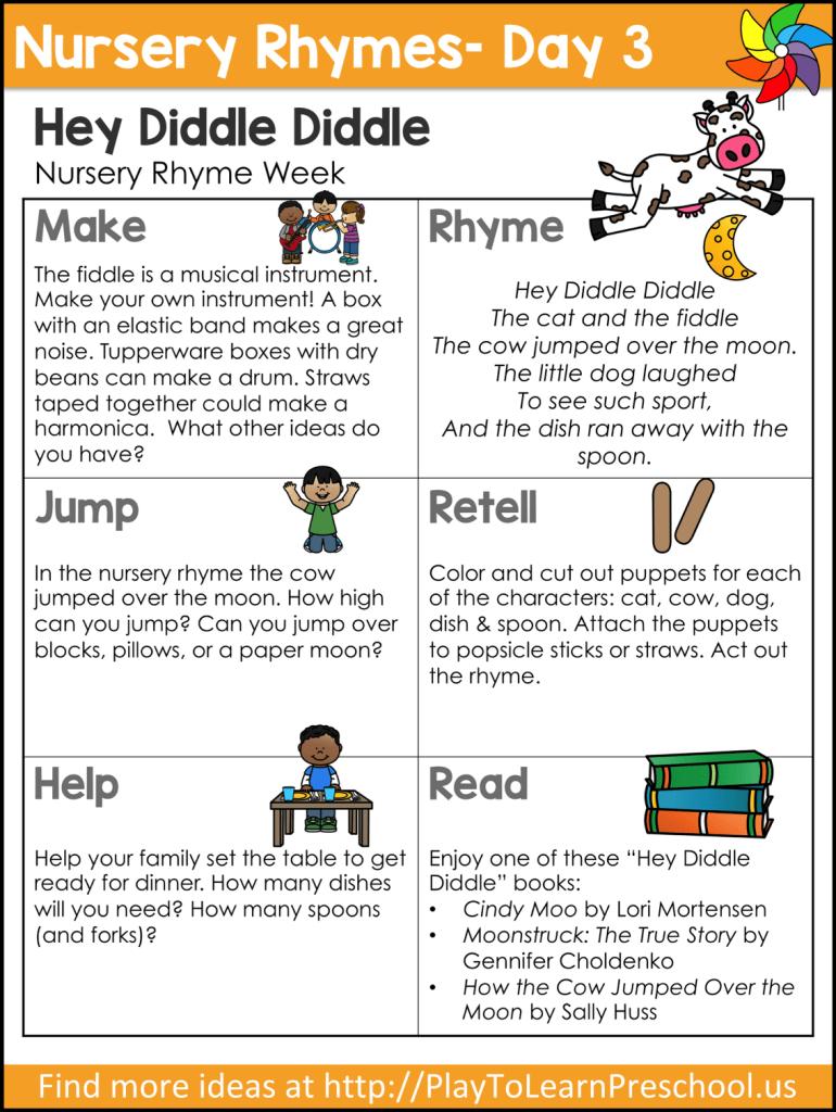 Nursery Rhyme Circle Time Videos