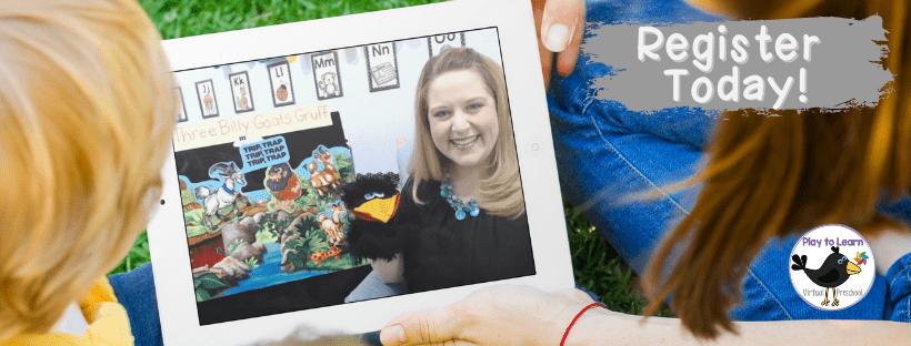 Join Virtual Preschool – Click Below!