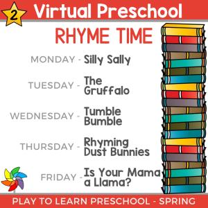 VP Spring 2021 - Rhyme Time
