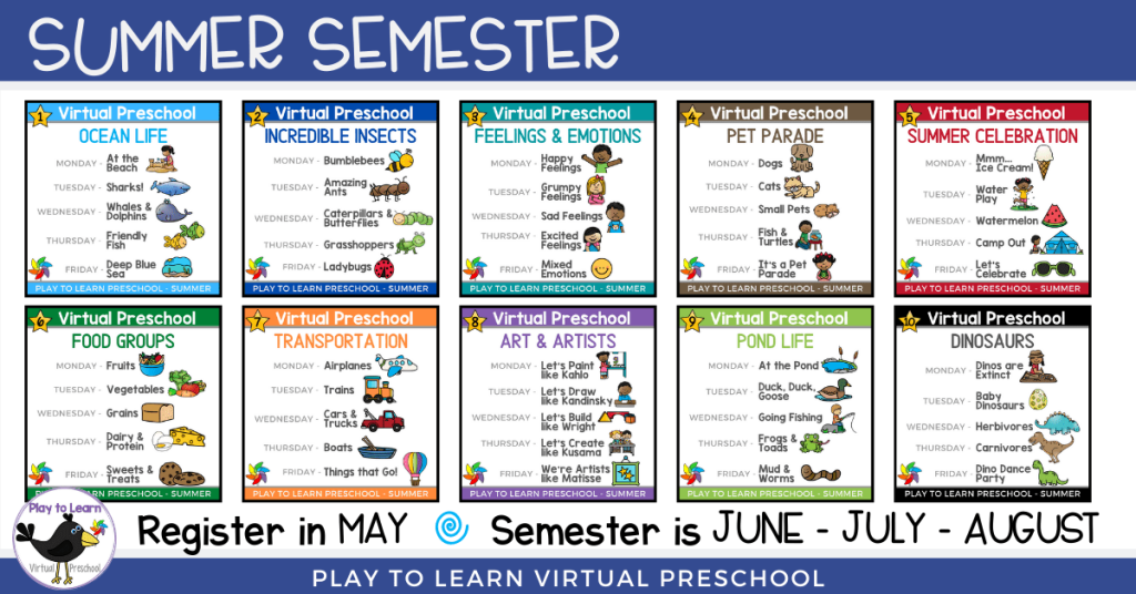 Summer Semester with Dates
